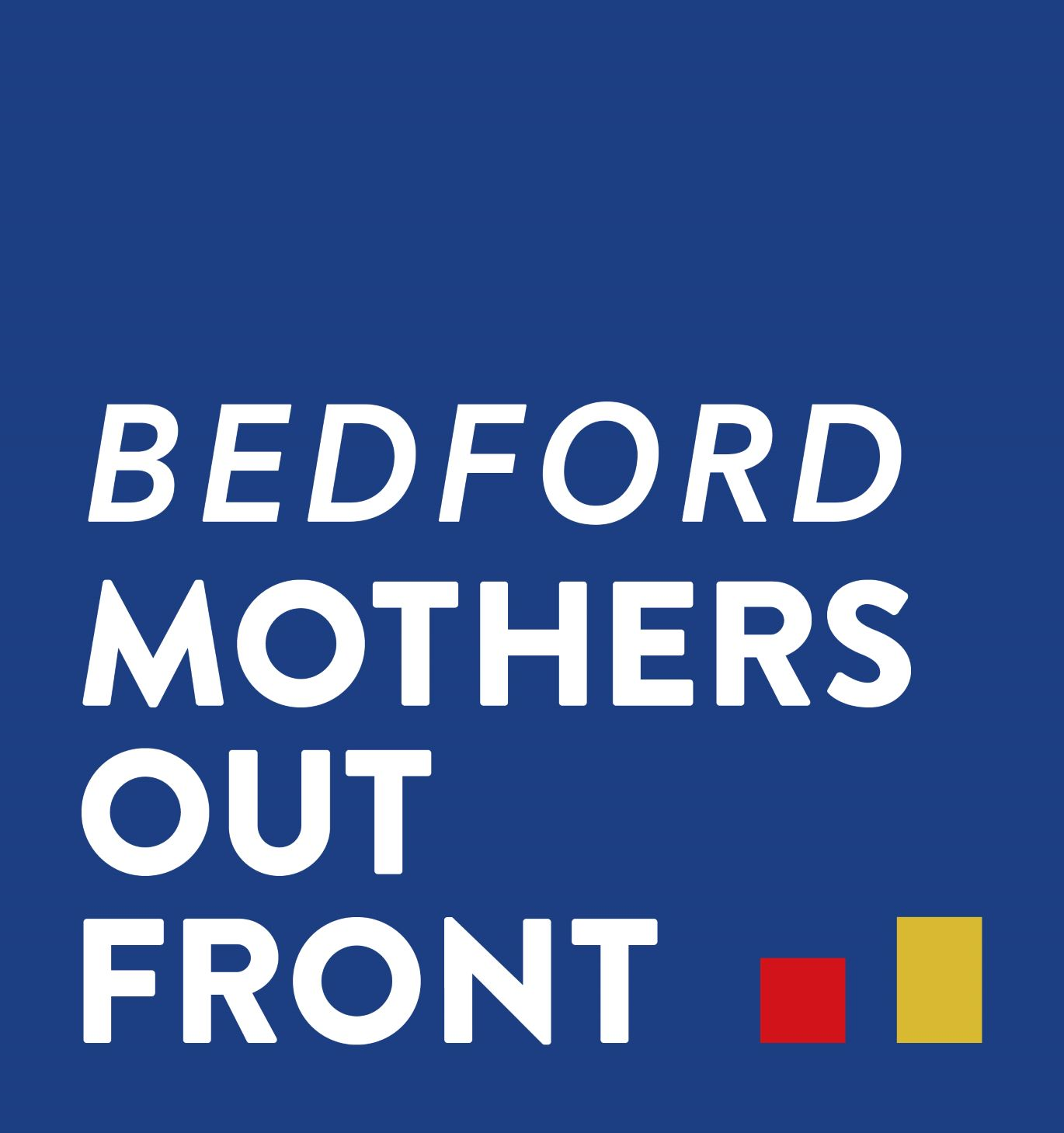 Bedford Mothers Out Front logo